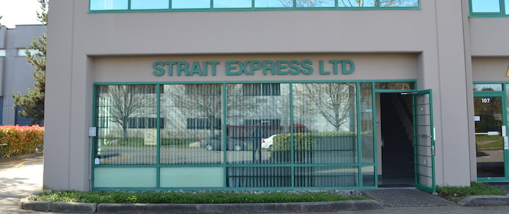 strait express contact